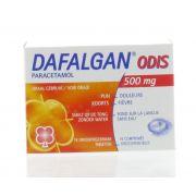 DAFALGAN ODIS COMPRIMES A SUCER 16 X 500 MG