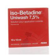ISO BETADINE UNIWASH 10 X 10 ML