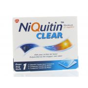NIQUITIN CLEAR PATCHS 21 X 14 MG