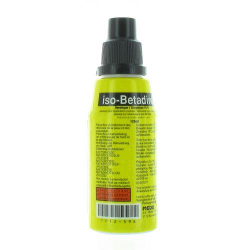 ISO BETADINE DERMIQUE 10% 125 ML