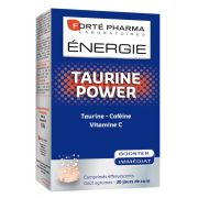 ENERGIE POWER TAURINE 30 COMPRIMES EFFERVESCENTS