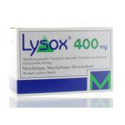 LYSOX SACHETS 30 X 400 MG