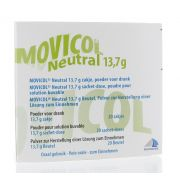 MOVICOL NEUTRAL 20 SACHETS