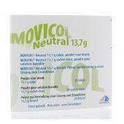 MOVICOL NEUTRAL 20 SACHETS