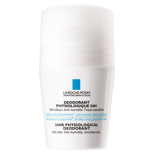 LA ROCHE POSAY DEODORANT PHYSIOLOGIQUE 24H ROLL ON 50 ML