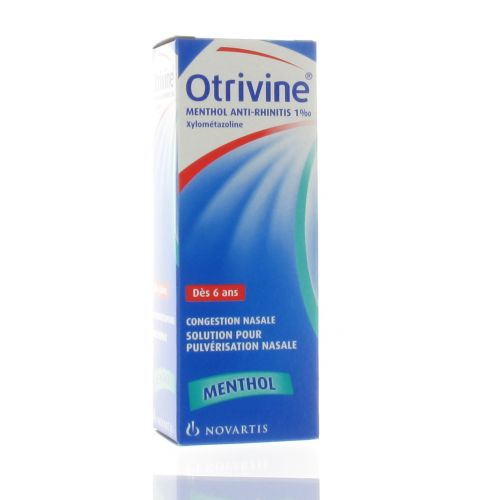 OTRIVINE MENTHOL SPRAY NASAL 10 ML