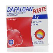 DAFALGAN COMPRIMES EFFERVESCENTS 8 X 1 G