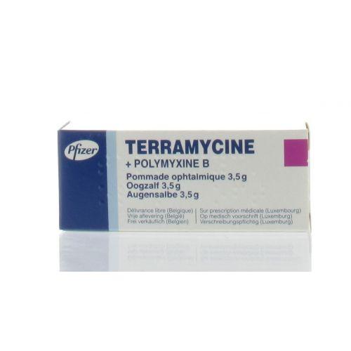 TERRAMYCINE ONGUENT OPHTALMIQUE 3,5 G
