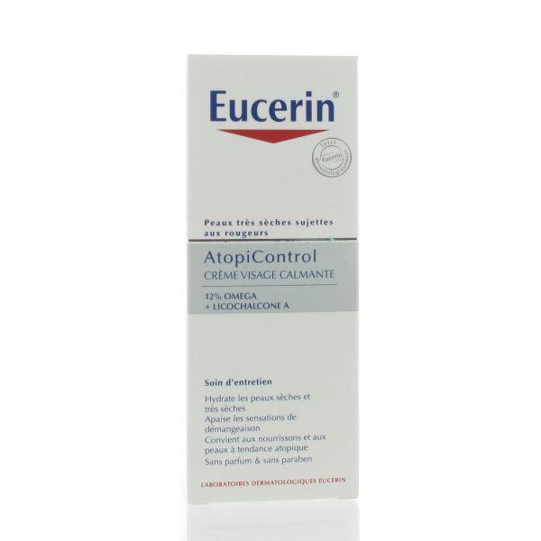 eucerin atopicontrol creme visage calmante 50 ml pharmacodel. Black Bedroom Furniture Sets. Home Design Ideas