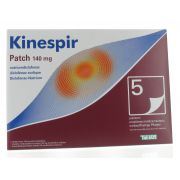 KINESPIR PATCHS  5 X 140 MG
