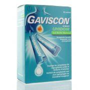 GAVISCON ADVANCE MENTHE SACHETS 20 X 10 ML