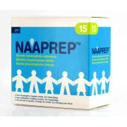 NAAPREP SERUM PHYSIOLOGIQUES FLAPULES 15 X 5 ML