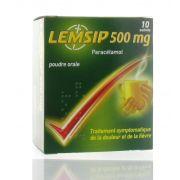 LEMSIP LEMON SACHETS 10 X 500 MG