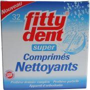 FITTYDENT NETTOYEUR 32 COMPRIMES EFFERVESCENTS