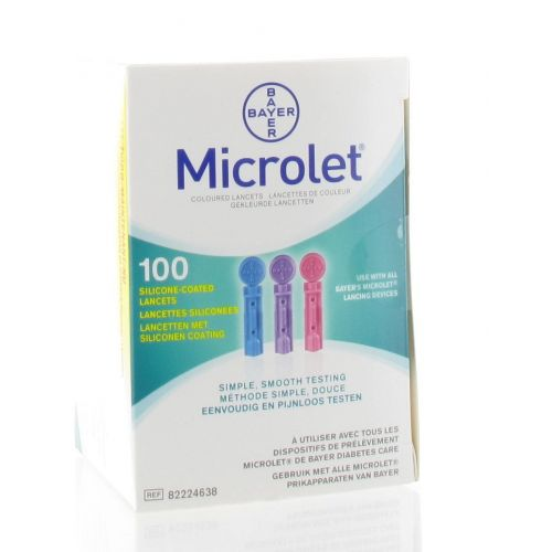 BAYER MICROLET LANCETTES STERILES (100)