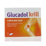 GLUCADOL KRILL 2 X 84 COMPRIMES