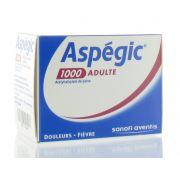 ASPEGIC 1000 SACHETS 20 X 1000 MG