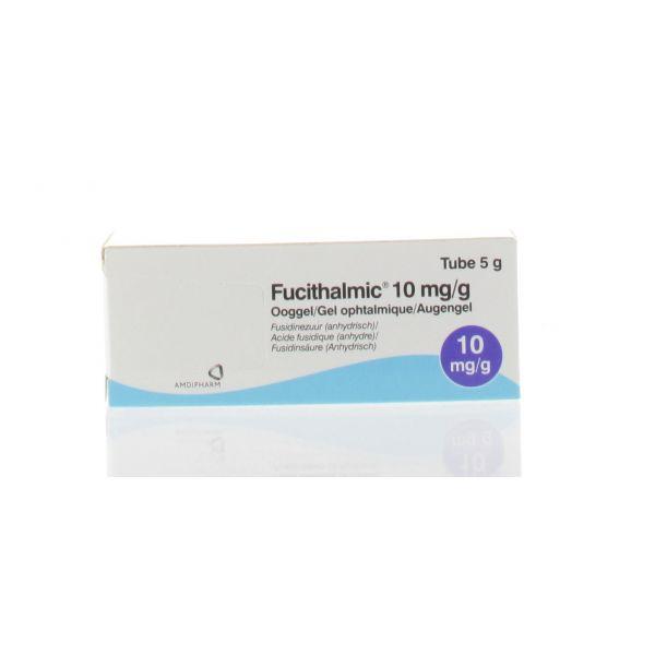 FUCITHALMIC GEL OPHTALMIQUE 1% 5 G - Pharmacodel