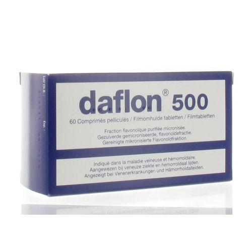 DAFLON COMPRIMES 60 X 500 MG - Pharmacodel
