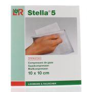 STELLA 5 COMPRESSE STERILE 10 X 10 CM (12)