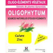 OLIGOPHYTUM CU-ZN 300 COMPRIMES