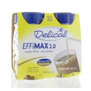 DELICAL EFFIMAX 2.0 CAFE 4 X 200 ML