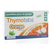 THYMO TABS ORANGE 24 PASTILLES A SUCER