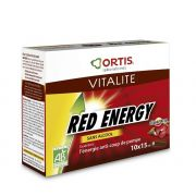 ORTIS RED ENERGY BIO SANS ALCCOL 10 X 15 ML
